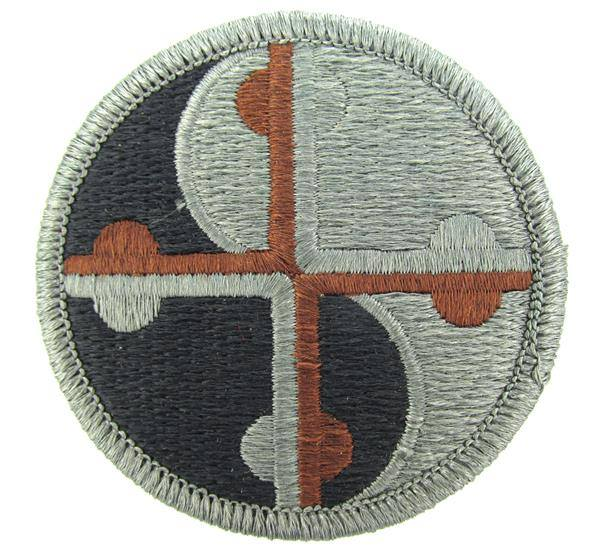 MDDF subdued insignia patch. Image